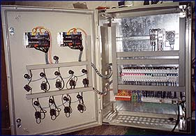 Řídicí systém pro plynovou kotelnu Siemens