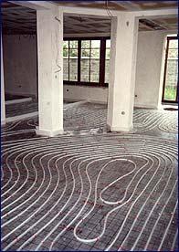 Podlahové vytápění v plastu (GIACOMINI)